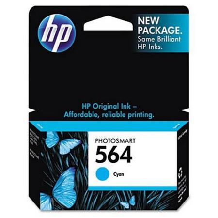 HP 564 Cyan Original Inkjet Cartridge