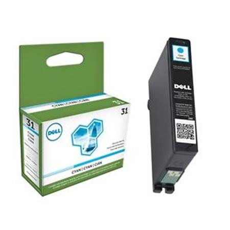 Dell 331-7691 (Series 31) Original Cyan Standard Capacity Single Use Ink Cartridge (8C4HK)