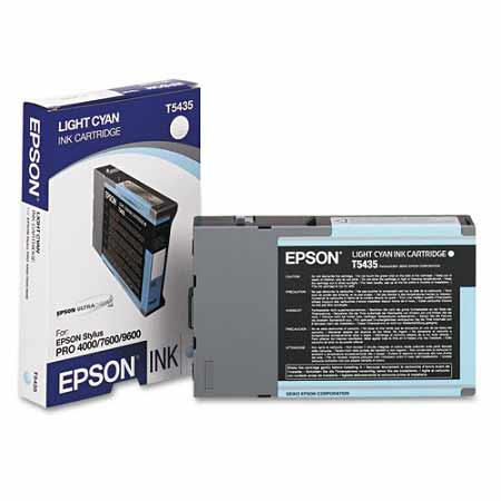 Epson T5435 (T543500) Original Light Cyan Ink Cartridge