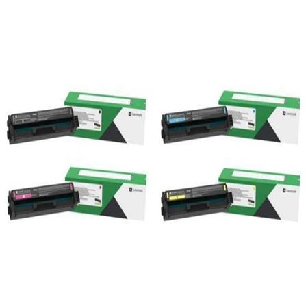 Lexmark C331H Full Set Original High Yield Toner Cartridges