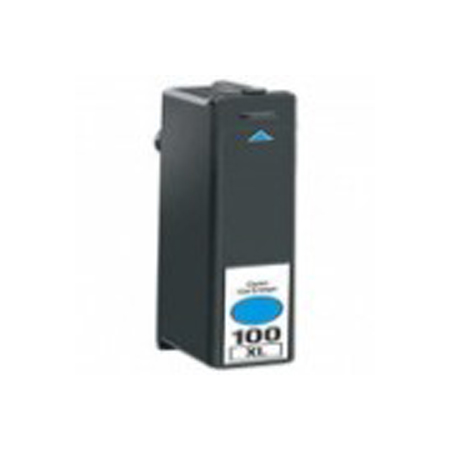 Lexmark 100XL (14N1069) Cyan Remanufactured High Yield ink Cartridge-Newest Version