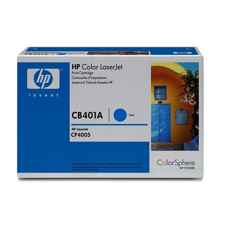 HP Color LaserJet CB401A Original Cyan Toner Cartridge