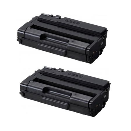 Compatible Twin Pack Ricoh Black 408288 Toner Cartridges