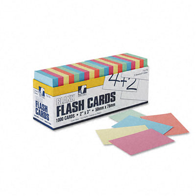Pacon Blank Flash Card Dispenser Box