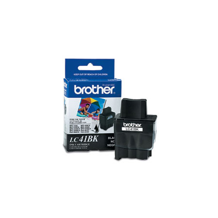 Brother LC41BK Black Original Print Cartridge