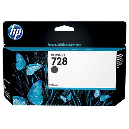 HP 728 (F9J68A) Matte Black Original High Capacity Ink Cartridge