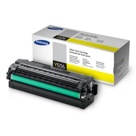 Samsung CLT-Y506L/ELS Yellow Original High Yield Toner Cartridge