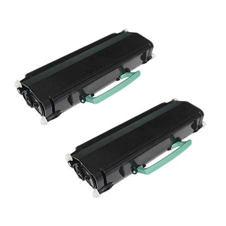 Clickinks E260A11A Black Remanufactured Toners Twin Pack