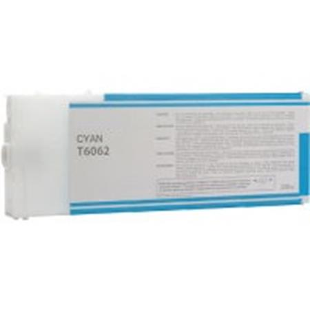 Compatible Cyan Epson T6062 Ink Cartridge (Replaces Epson T606200)