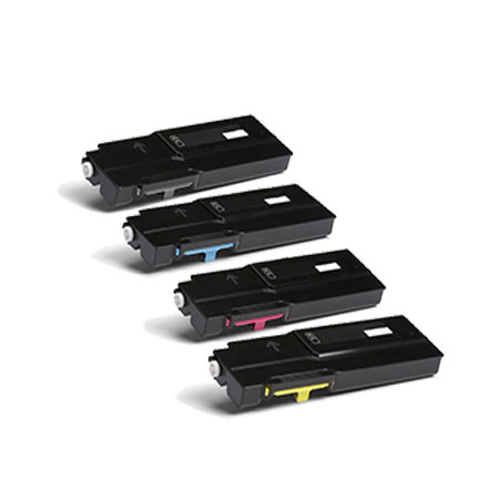 Clickinks 106R03512/15 Full Set Remanufactured High Capacity Toner Cartridges