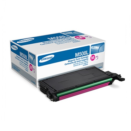 Samsung CLT-M508L Magenta Original High Capacity Toner Cartridge