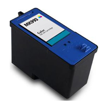 Dell MK993 Remanufactured Color High Yield Ink Cartridge (Series 9)