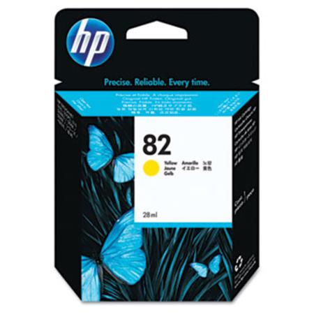 HP 82 (CH568A) Original Yellow Inkjet Cartridge - 28ml