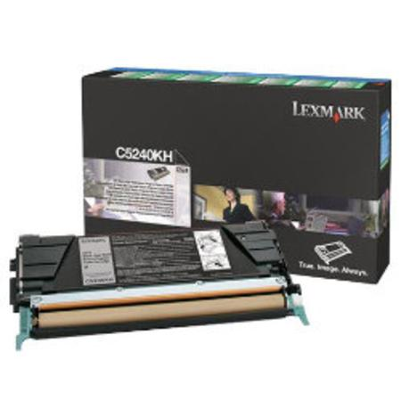 Lexmark C5240KH Original Black High Yield Return Program Toner Cartridge