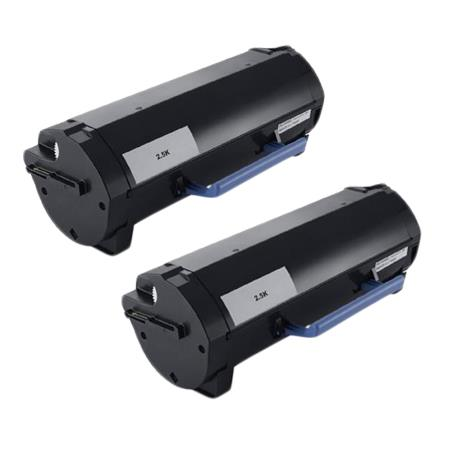 Dell 593-BBYO Black Original Standard Capacity Toners Twin Pack