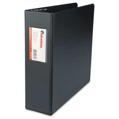 D-Ring Binder With Label Holder 3Inch Capacity Black