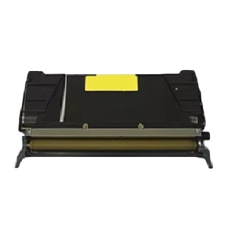 Lexmark C736H2YG Yellow Remanufactured High Capacity Toner Cartridge