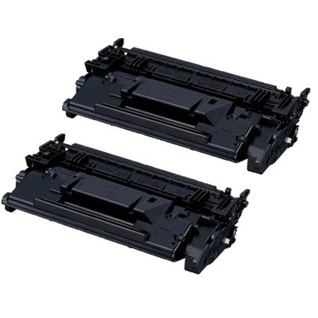 Compatible Twin Pack Black Canon 041BK Standard Yield Toner Cartridges