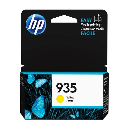 HP 935 Yellow Original Standard Capacity Ink Cartridge (C2P22AN)