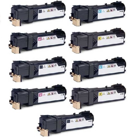 Clickinks 106R01455 2 Full Sets + 1 EXTRA Black Remanufactured Toner Cartridge