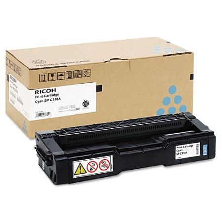 Ricoh 406345 Cyan Original Toner Cartridge