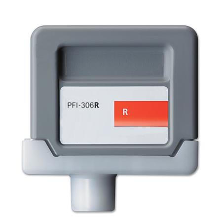 Compatible Red Canon PFI-306R Ink Cartridge (Replaces Canon 6663B001AA)