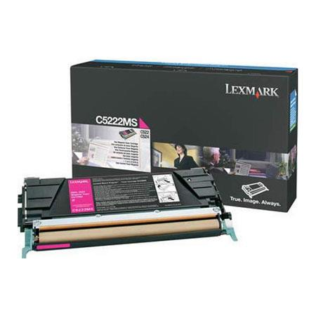Lexmark C5222MS Original Magenta Toner Cartridge