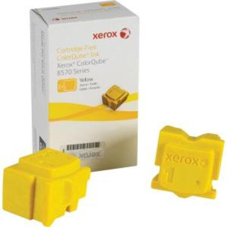 Xerox 108R00928 Yellow Original Solid Ink Cartridge 2 pack