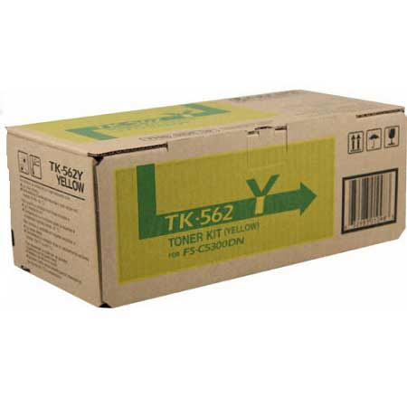Kyocera-Mita TK-562Y Yellow Original Toner Cartridge