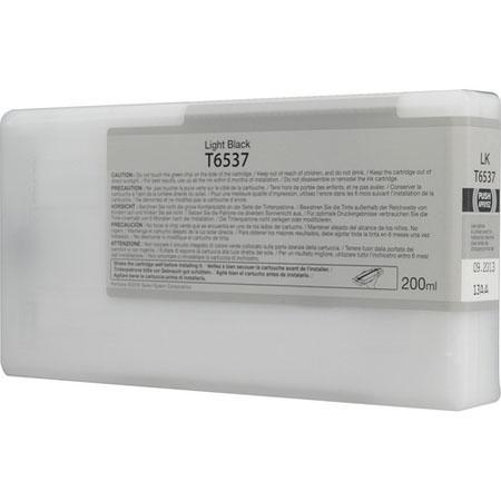 Epson T653700 (T6537) Remanufactured Light Black Ink Cartridge