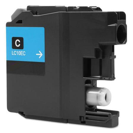 Compatible Cyan Brother LC10EC Extra High Yield Ink Cartridge