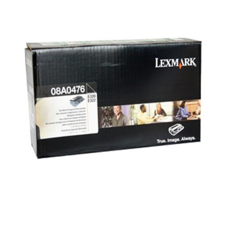 Lexmark 08A0476 Original Black Prebate Toner Cartridge