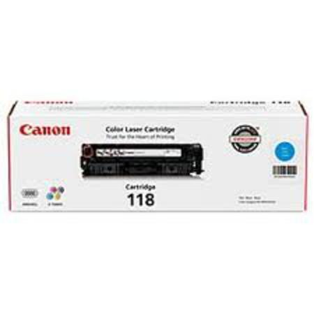 Canon 118 Cyan Original Toner Cartridge