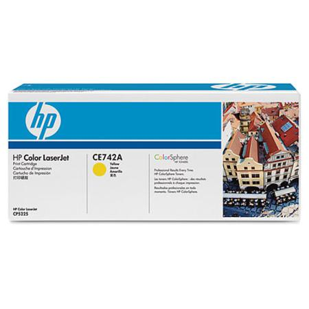HP 307A (CE742A) Yellow Original Toner Cartridge