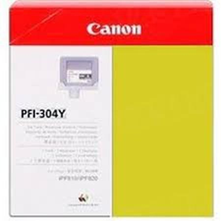 Canon PFI-304Y Original Yellow Ink Cartridge