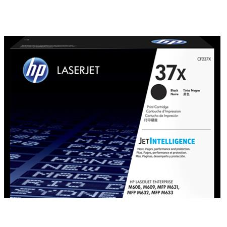 HP 37X (CF237X) Black Original High Capacity Toner Cartridge
