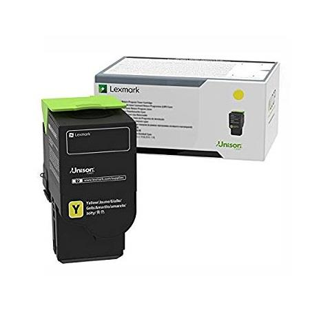 Lexmark C231HY0 Yellow Original High Capacity Toner Cartridge