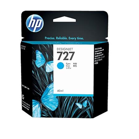 HP 727 Cyan Original Standard Capacity Ink Cartridge