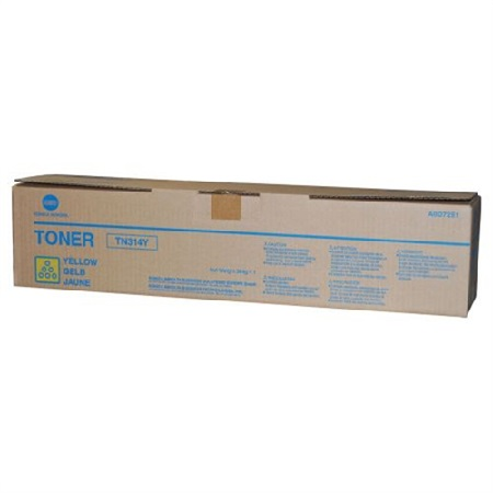 Konica Minolta TN314 Yellow Original Toner Cartridge