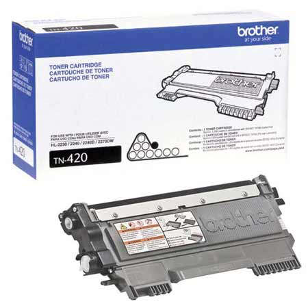 Brother TN420 Black Original Toner Cartridge