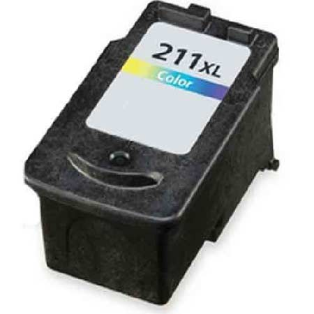 Canon CL-211XL Color High Capacity Remanufactured Ink Cartridge