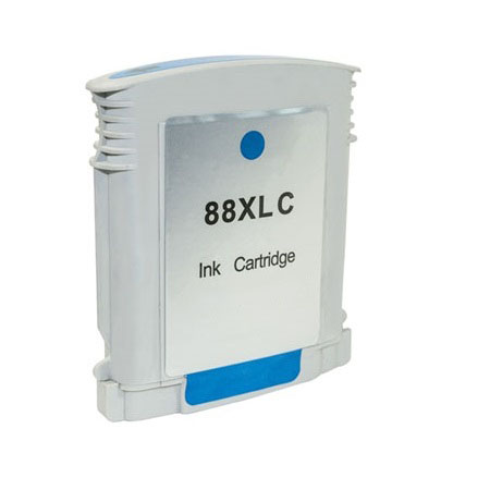 HP 88XL Large Cyan Remanufactured Ink Cartridge (C9391AN)