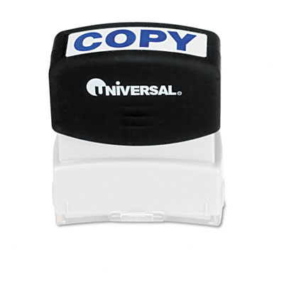 Universal Message Stamp  COPY  Pre-Inked/Re-Inkable  Blue