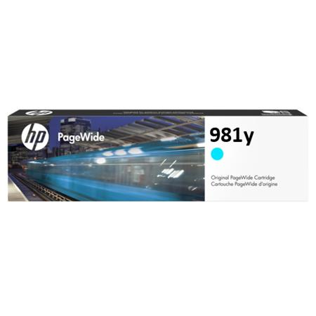 HP 981Y (L0R13A) Cyan Original Extra High Capacity PageWide Ink Cartridge