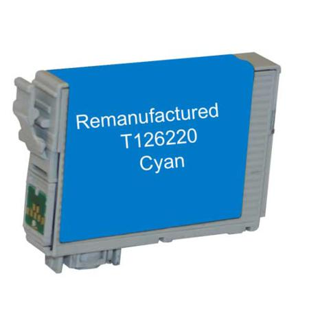 Compatible Cyan Epson 126 Ink Cartridge (Replaces Epson T126220)