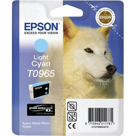 Epson T0965 (T096520) Original Light Cyan Ink Cartridge