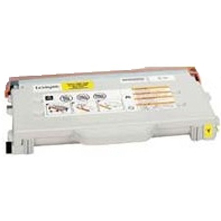 Lexmark 20K1402 Remanufactured High Capacity Yellow Toner Cartridge