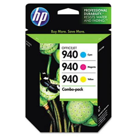 HP 940 (CN065FN) Tri-color Original Ink Cartridge Combo