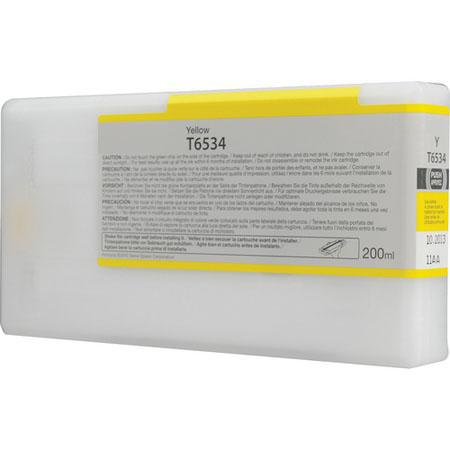 Epson T653400 (T6534) Remanufactured Yellow Ink Cartridge