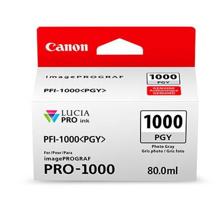 Canon PFI-1000PGY Photo Grey Original Ink Cartridge (0553C001)